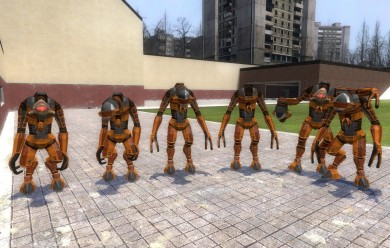 Hev suit vortigaunt pack v3.0 For Garry's Mod Image 1