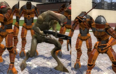 Hev suit vortigaunt pack v3.0 For Garry's Mod Image 2