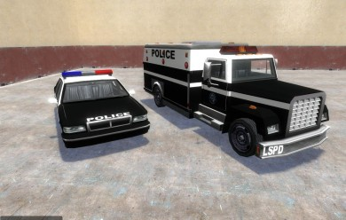 police_cars.zip For Garry's Mod Image 1