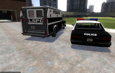 police_cars.zip For Garry's Mod Image 2