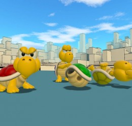 Classic Koopa Troopa For Garry's Mod Image 1