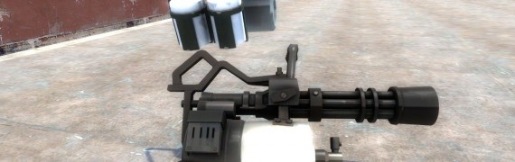 TF2 Viktoriya minigun hexed
