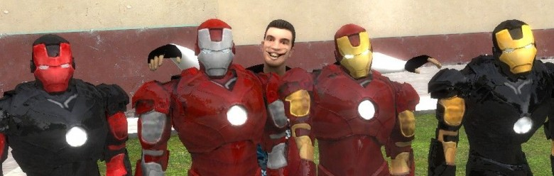 Iron man pack For Garry's Mod Image 1