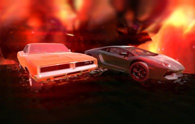 Dodge Charger + Lamb.Aventador For Garry's Mod Image 1
