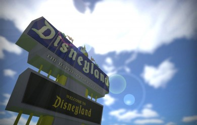 disneyland_sign.zip For Garry's Mod Image 1