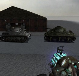 Panzer IV and Sherman Tank For Garry's Mod Image 1