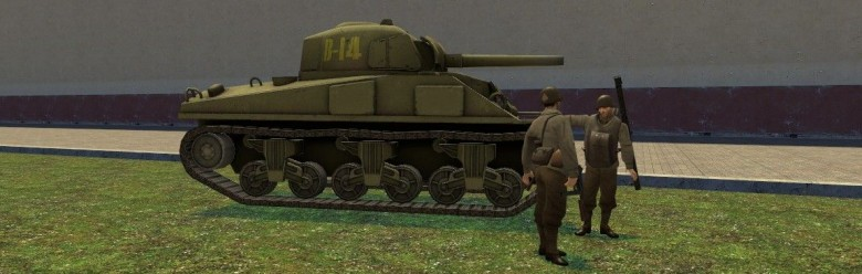 shermantank.zip For Garry's Mod Image 1