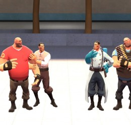 Casual Medic and Heavy.zip For Garry's Mod Image 1