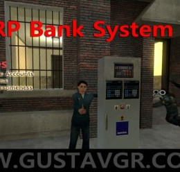 darkrp_bank_system_v_1.1.zip For Garry's Mod Image 1