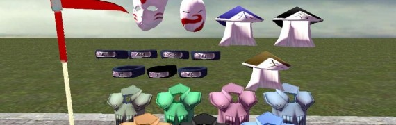 Naruto Model Pack