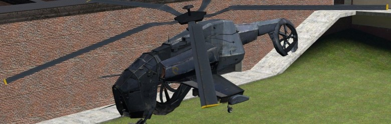 ragdolled_hunter-chopper_v2.zi For Garry's Mod Image 1