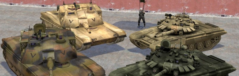 BFP4F T-90 and M1A2 Abrams For Garry's Mod Image 1