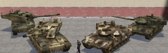 BF2 Leo 2A6 and Challenger 2
