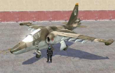 BF2 SU-34 and SU25TM ragdolls For Garry's Mod Image 2
