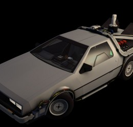 Delorean Model For Garry's Mod Image 1