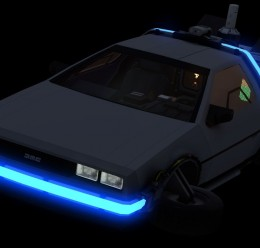 Delorean Model For Garry's Mod Image 2