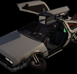 Delorean Model For Garry's Mod Image 3