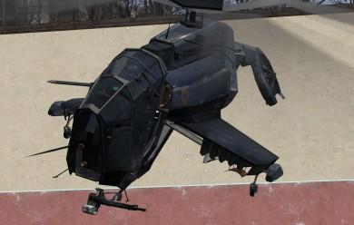 ragdolled_hunter-chopper.zip For Garry's Mod Image 1