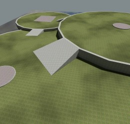 gm_flatgrass_3circles.zip For Garry's Mod Image 2