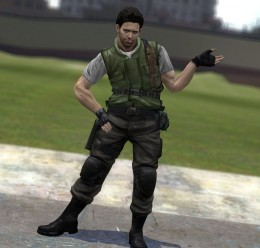 chris_redfield.zip For Garry's Mod Image 1