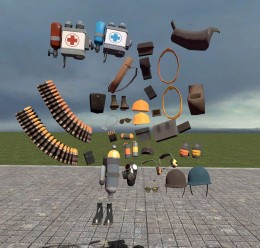 TF2 hacked parts pack V4 For Garry's Mod Image 1