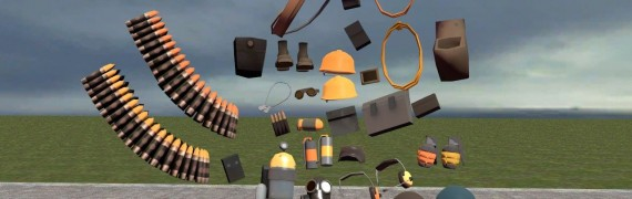 TF2 hacked parts pack V4