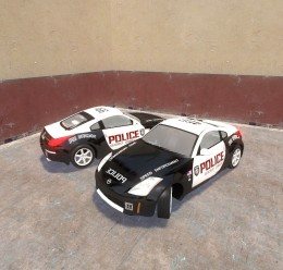 350z_police_skin.zip For Garry's Mod Image 1