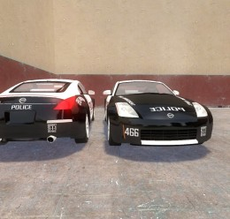 350z_police_skin.zip For Garry's Mod Image 2