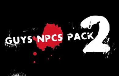 Guys Npcs Pack v2 Part 1 For Garry's Mod Image 1