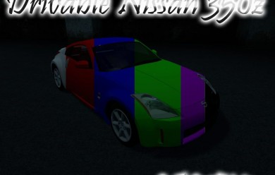 Nissan 350z For Garry's Mod Image 2