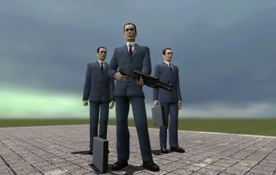GMan no Briefcase MODEL For Garry's Mod Image 1