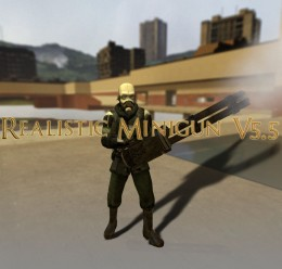 Realistic Minigun V5.5 For Garry's Mod Image 1