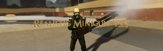 Realistic Minigun V5.5