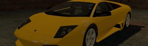 Drivable Lamborghini Murcielag