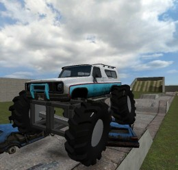 old_school_monster_truck.zip For Garry's Mod Image 1