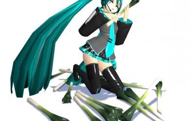 Hatsune Miku + Leek For Garry's Mod Image 2