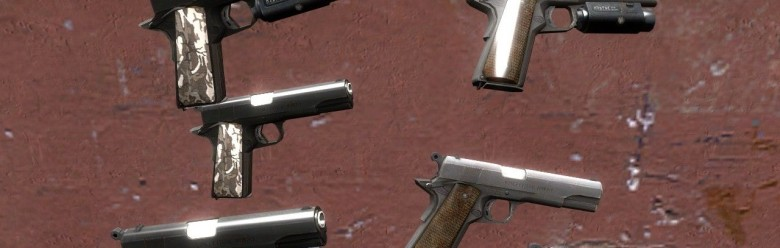l4d_urban_camo_pistol_hexed.zi For Garry's Mod Image 1