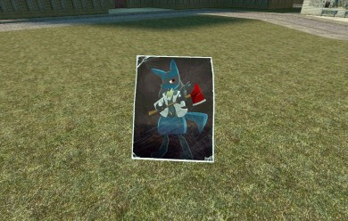 [GMT] lucario nick poster For Garry's Mod Image 1