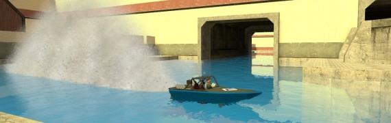 Karbine's V8 Jet Boat