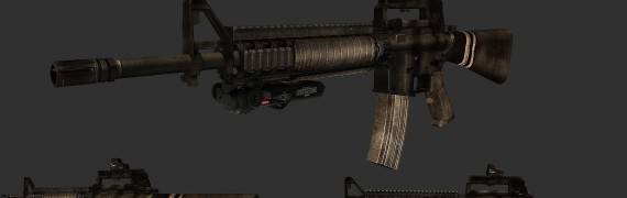 Battlefield 3-like M16A4