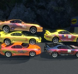TDM Supra skins For Garry's Mod Image 2