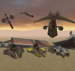 5 Flyable Star Wars Ships For Garry's Mod Image 1