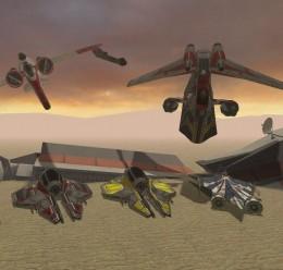 5 Flyable Star Wars Ships For Garry's Mod Image 1