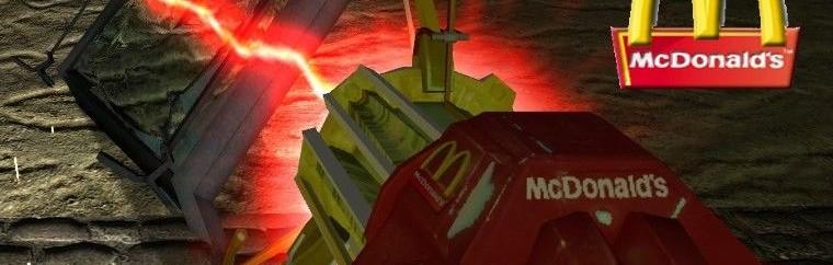 Mcdonald's Gravity gun! For Garry's Mod Image 1