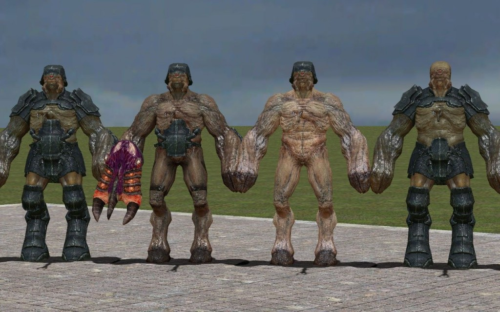 Black Mesa Alien Grunt + Fix | garrysmods.org