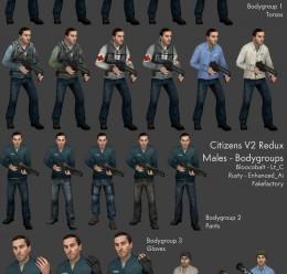 Enhanced Citizens Redux For Garry's Mod Image 2