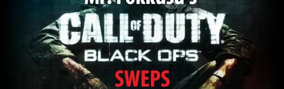 Call of Duty: Black Ops SWEPS