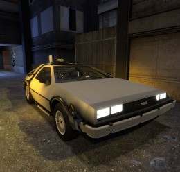 drivable_delorean.zip For Garry's Mod Image 1