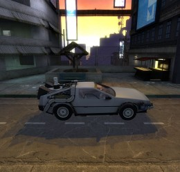drivable_delorean.zip For Garry's Mod Image 2