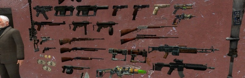 Fallout Weapons preview 1